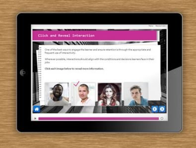 e-Learning templates storyline screen interaction