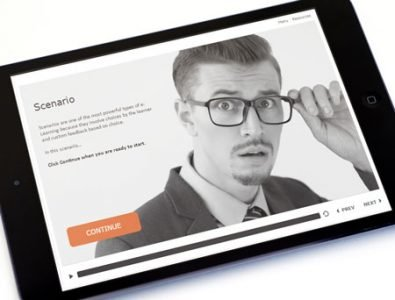 scenario template e-learning storyline