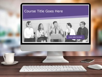 storyline template e-learning