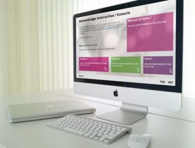 scenario e-learning template