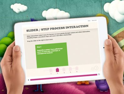 interactive storyline e-learning template