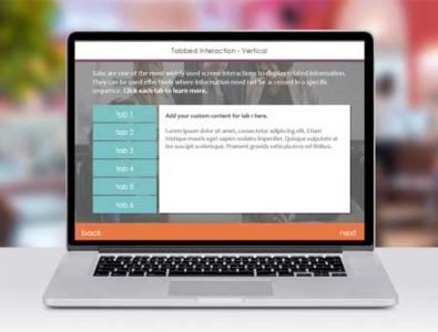 e-learning storyline template vertical tabbed interaction