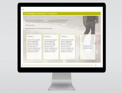 interactive storyline scenario template download