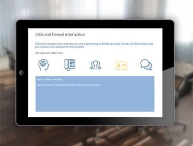 interactive click and reveal storyline template