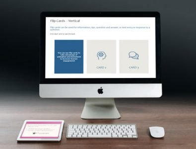 flip cards interactive storyline template