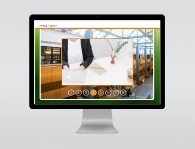 image slider elearning template