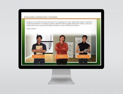 scenario template elearning for download